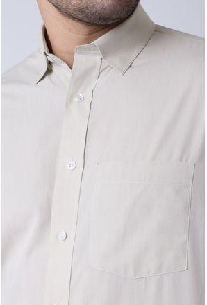 Camisa-casual-masculina-tradicional-algodao-fio-50-bege-f07386a-3