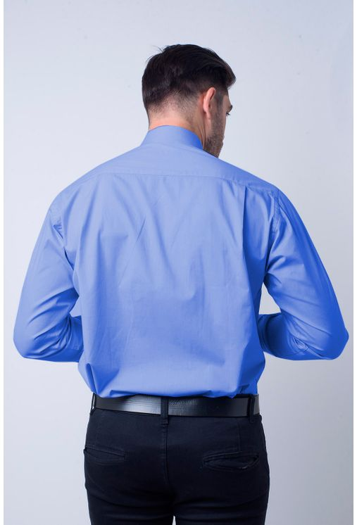 Camisa-social-masculina-tradicional-algodao-fio-60-azul-medio-f06798a-2