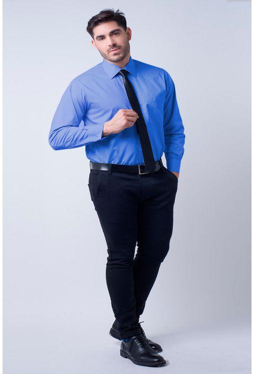 Camisa-social-masculina-tradicional-algodao-fio-60-azul-medio-f06798a-4