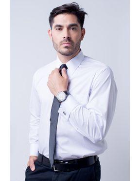 411acaa3cb Camisa social masculina tradicional algodão fio 60 branco f06798a 01 ...