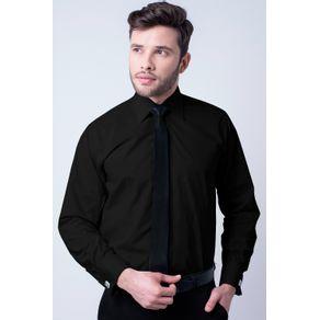 Camisa-social-masculina-tradicional-algodao-fio-60-preto-f06798a-1