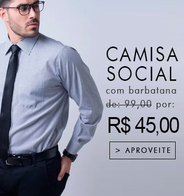 a193b48e74 Camisa Social Masculina é na Fascynios