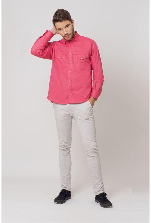 Camisa-casual-masculina-tradicional-sarjada-pink-f01695a-4