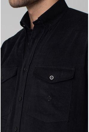 Camisa-casual-masculina-tradicional-veludo-preto-f02033a-3