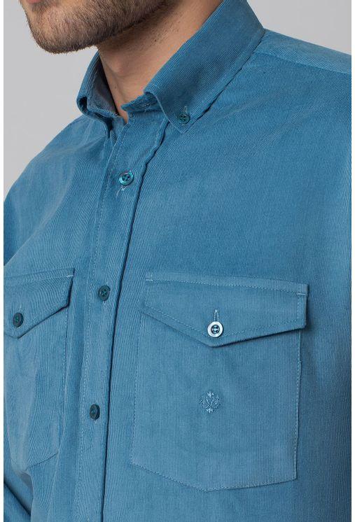 Camisa-casual-masculina-tradicional-veludo-azul-f02033a-3