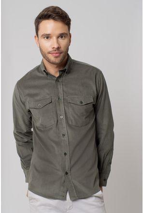 Camisa-casual-masculina-tradicional-veludo-verde-f02033a-1