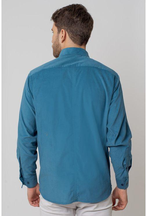 Camisa-casual-masculina-tradicional-veludo-azul-f02031a-2