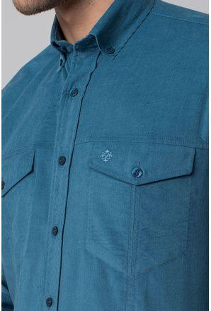Camisa-casual-masculina-tradicional-veludo-azul-f02031a-3