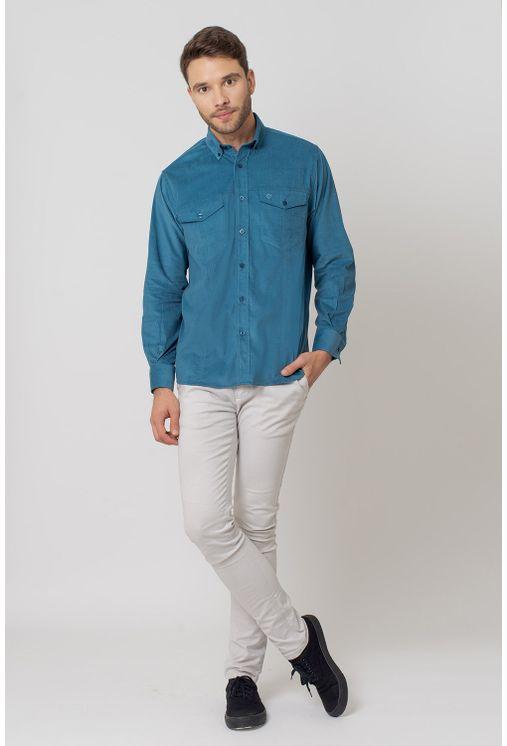 Camisa-casual-masculina-tradicional-veludo-azul-f02031a-4