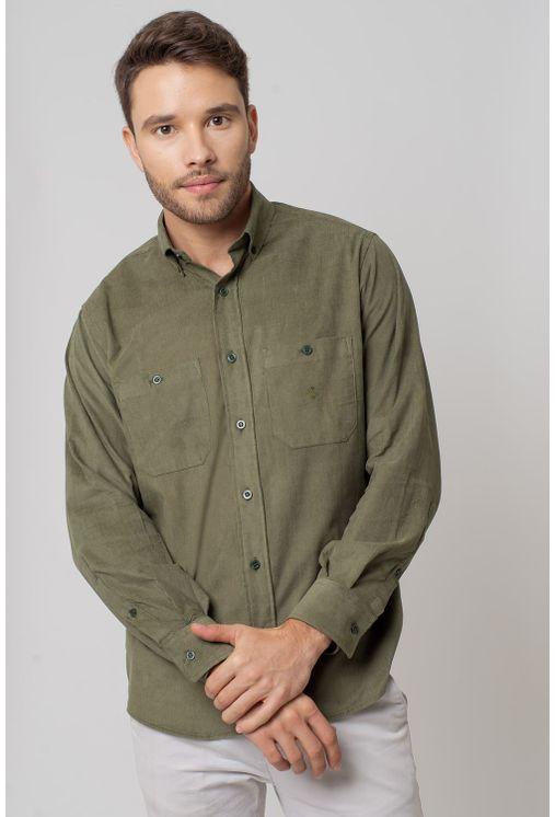 Camisa-casual-masculina-tradicional-veludo-verde-f02032a-1