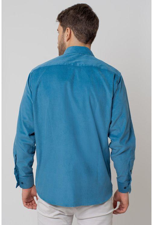 Camisa-casual-masculina-tradicional-veludo-azul-f02032a-2