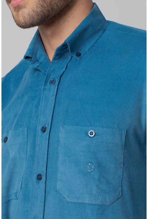 Camisa-casual-masculina-tradicional-veludo-azul-f02032a-3