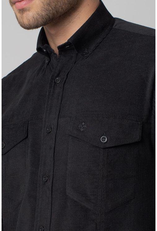 Camisa-casual-masculina-tradicional-veludo-preto-f02031a-3