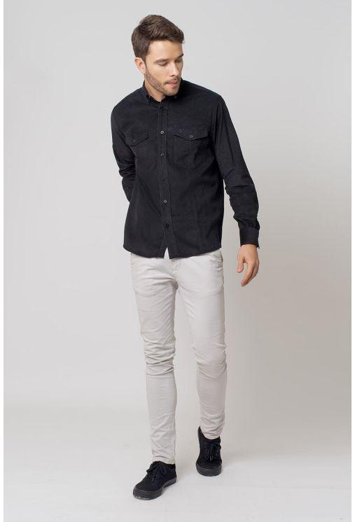 Camisa-casual-masculina-tradicional-veludo-preto-f02031a-4