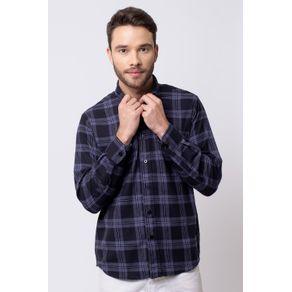 Camisa-casual-masculina-tradicional-flanela-preto-f08187a-1