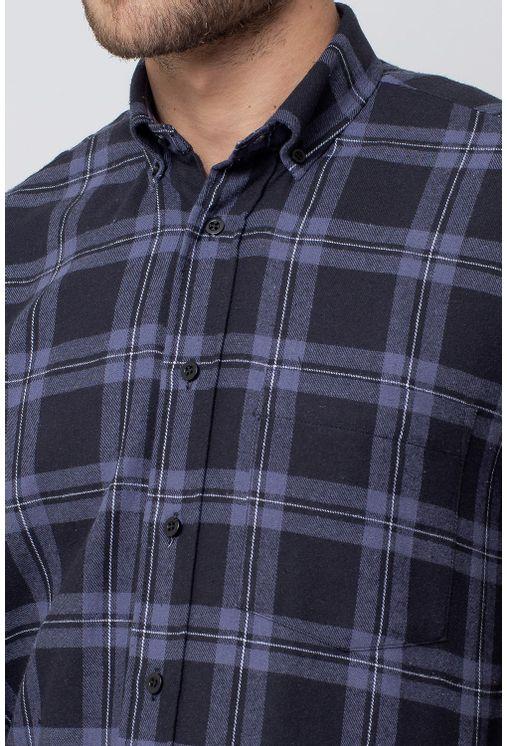 Camisa-casual-masculina-tradicional-flanela-preto-f08187a-3