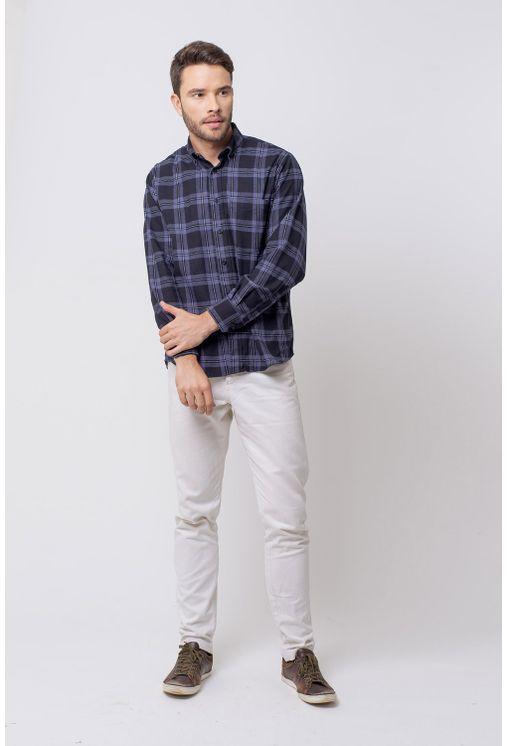 Camisa-casual-masculina-tradicional-flanela-preto-f08187a-4