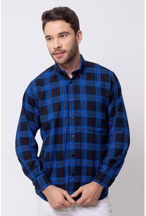 Camisa-casual-masculina-tradicional-flanela-azul-f08187a-1