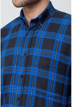 Camisa-casual-masculina-tradicional-flanela-azul-f08187a-3