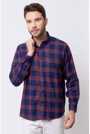 Camisa-casual-masculina-tradicional-flanela-vermelho-f08187a-1