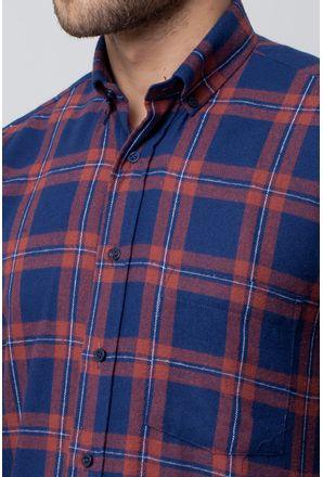 Camisa-casual-masculina-tradicional-flanela-vermelho-f08187a-3