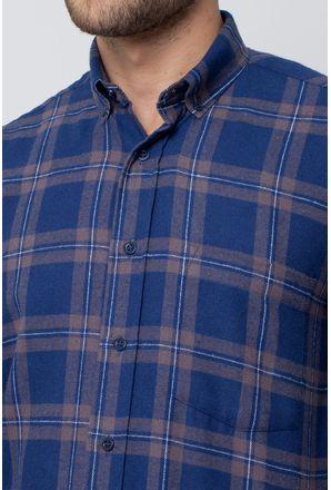 Camisa-casual-masculina-tradicional-flanela-azul-escuro-f08187a-3