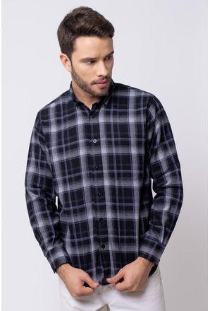Camisa-casual-masculina-tradicional-flanela-cinza-f08188a-1