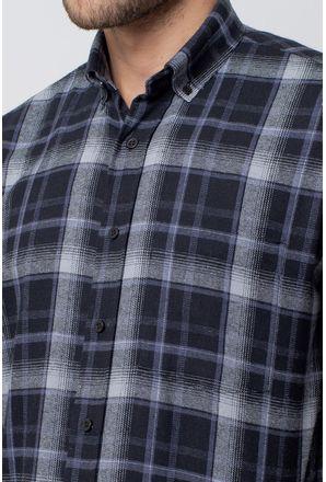 Camisa-casual-masculina-tradicional-flanela-cinza-f08188a-3