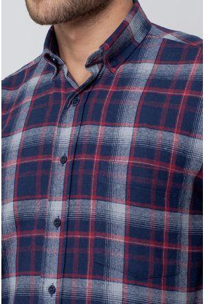 Camisa-casual-masculina-tradicional-flanela-azul-escuro-f08188a-3