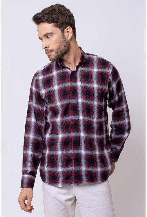 Camisa-casual-masculina-tradicional-flanela-vermelho-f08189a-1