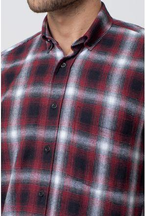 Camisa-casual-masculina-tradicional-flanela-vermelho-f08189a-3
