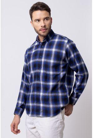 Camisa-casual-masculina-tradicional-flanela-azul-f08189a-1