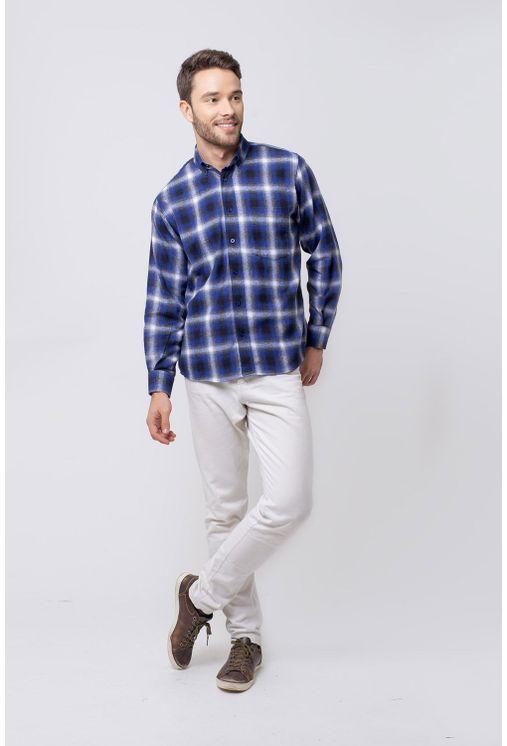 Camisa-casual-masculina-tradicional-flanela-azul-f08189a-4