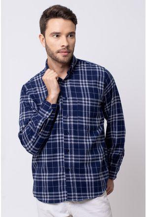 Camisa-casual-masculina-tradicional-flanela-azul-escuro-f08192a-1