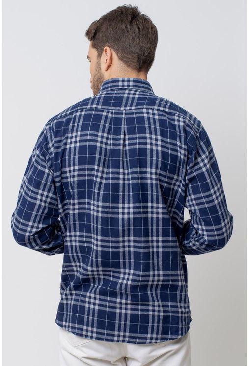 Camisa-casual-masculina-tradicional-flanela-azul-escuro-f08192a-2