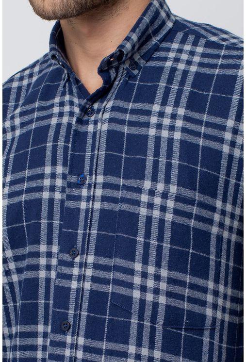 Camisa-casual-masculina-tradicional-flanela-azul-escuro-f08192a-3