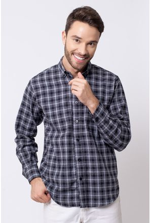 Camisa-casual-masculina-tradicional-flanela-preto-f08194a-1