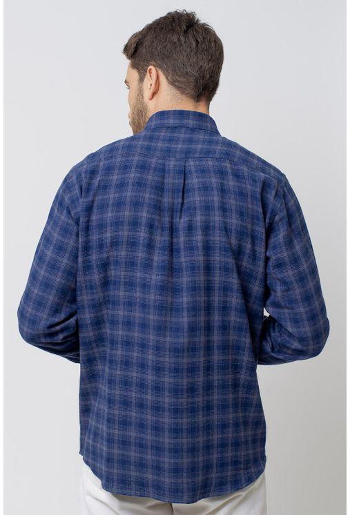 Camisa-casual-masculina-tradicional-flanela-azul-escuro-f08194a-2