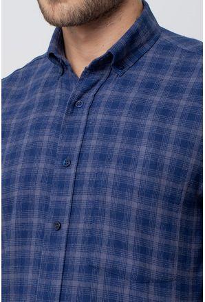 Camisa-casual-masculina-tradicional-flanela-azul-escuro-f08194a-3