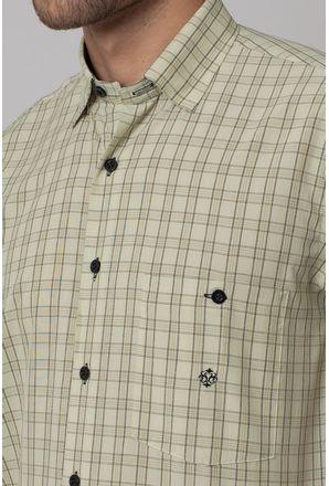 Camisa-Casual-Masculina-Tradicional-Microfibra-Creme-07966-01