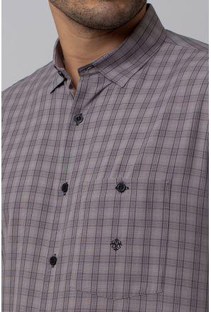 Camisa-Casual-Masculina-Tradicional-Microfibra-Grafite-07965-02