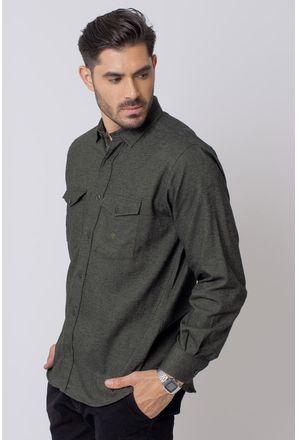Camisa-Casual-Masculina-Tradicional-Flanela-Verde-08204-01