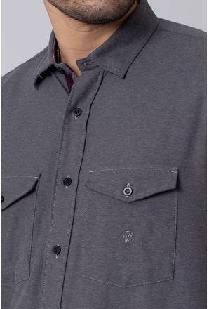 Camisa-Casual-Masculina-Tradicional-Flanela-Grafite-08204-01