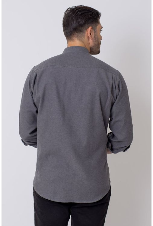Camisa-Casual-Masculina-Tradicional-Flanela-Grafite-08204-03