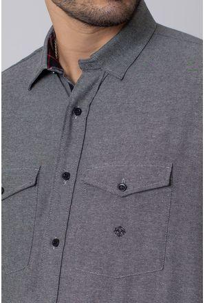 Camisa-Casual-Masculina-Tradicional-Flanela-Cinza-08204-01