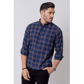 Camisa-Casual-Masculina-Tradicional-Flanela-Grafite-08212-02
