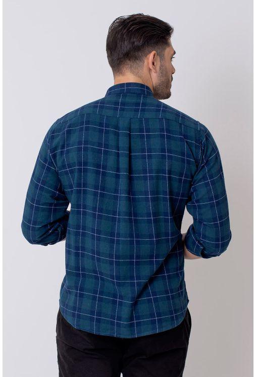 Camisa-Casual-Masculina-Tradicional-Flanela-Azul-08212-01