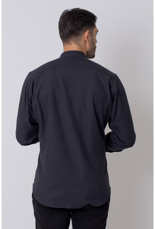 Camisa-Casual-Masculina-Tradicional-Flanela-Preto-08205-01