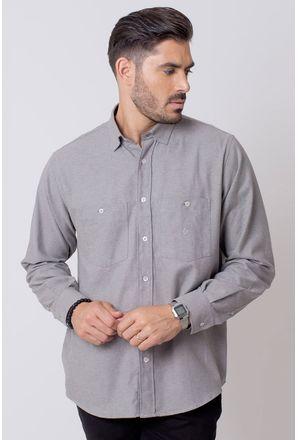 Camisa-Casual-Masculina-Tradicional-Flanela-Cinza-08205-01