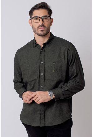 Camisa-Casual-Masculina-Tradicional-Flanela-Verde-08205-01